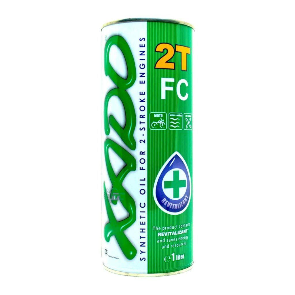 Двухтактное масло - XADO 2T FC 1L