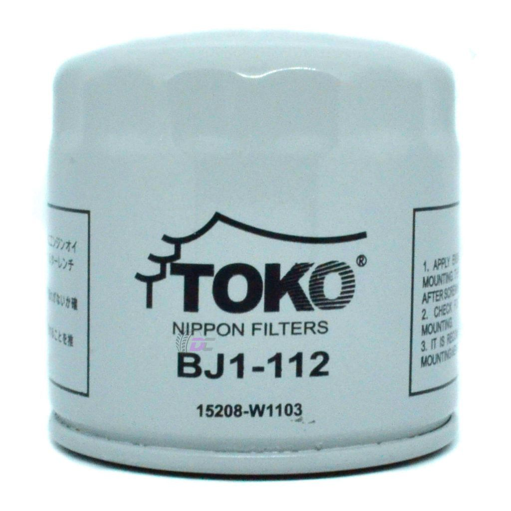 Масляный фильтр - TOKO BJ1-112