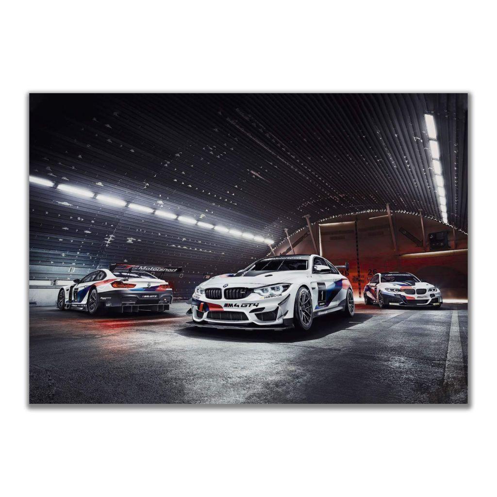 Постер BMW M4 GT4 Motorsport