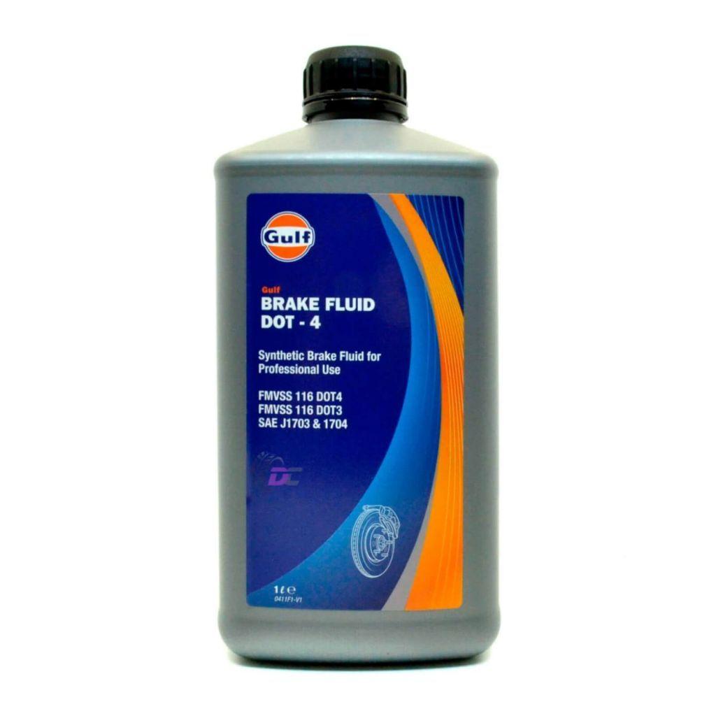 Тормозная жидкость - Gulf BRAKE FLUID DOT-4 1L