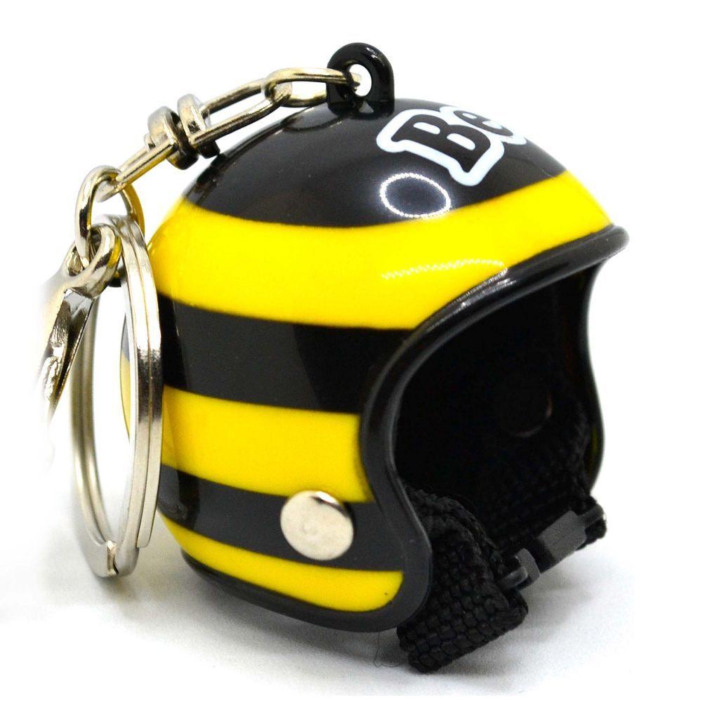 Брелок в виде шлема - Пчелка