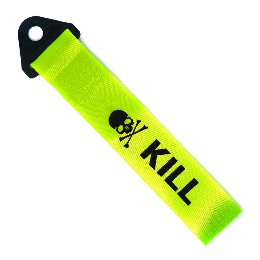 """Купить буксировочные петли красного цвета, с надписью """"KILL"""""""
