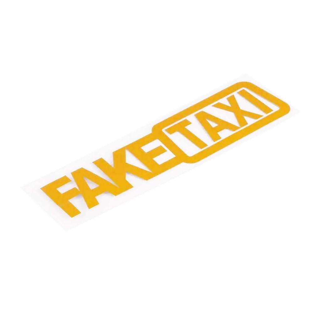 Наклейки на авто - FAKE Taxi