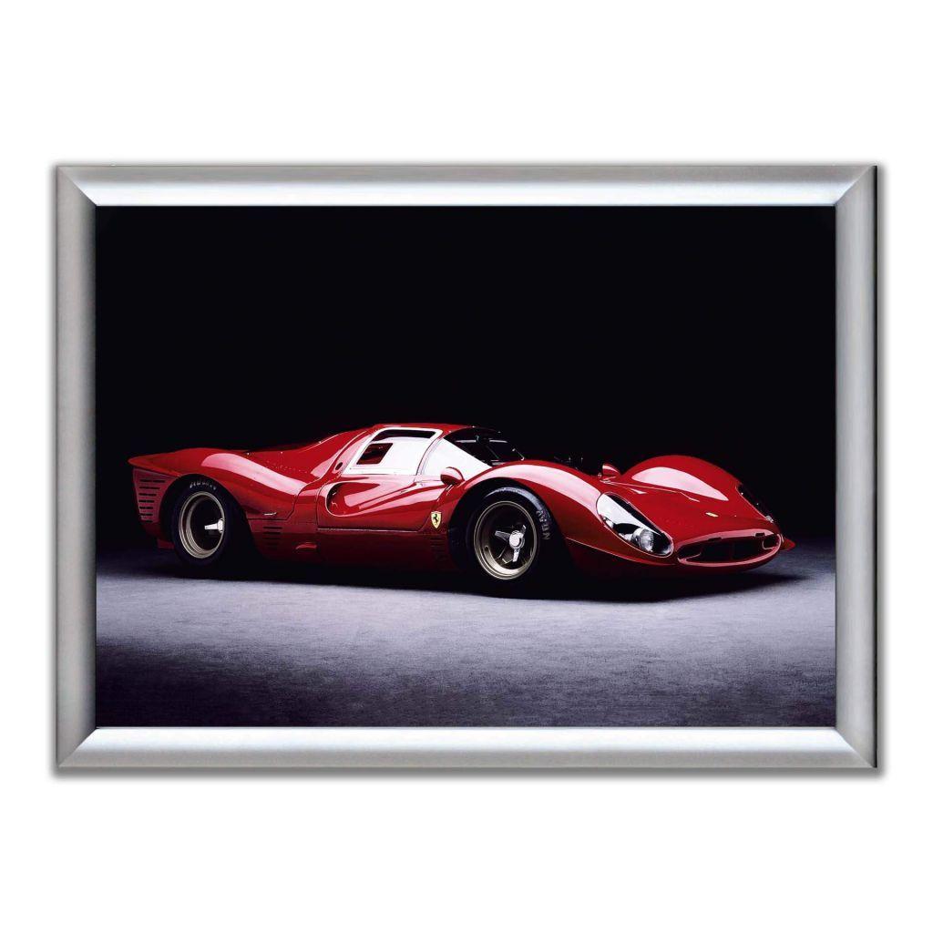 А2 Постер в алюминиевой рамке - Ferrari 330 P