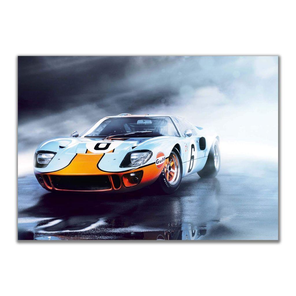 """""""Gulf Ford GT40"""" - А2 Постеры с машинами"""