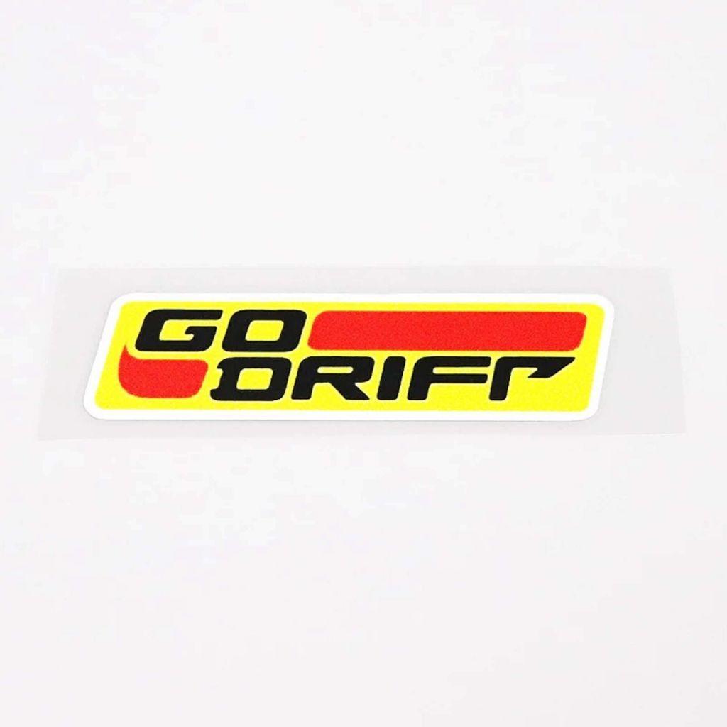 Наклейка на авто - Go Drift