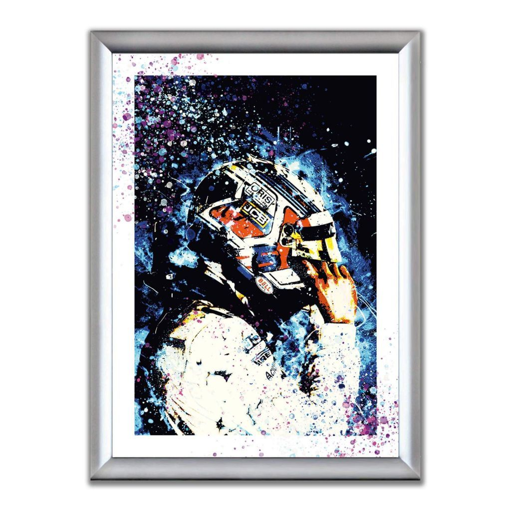 А2 Постер в алюминиевой рамке - George Russell - ROKiT Williams Racing
