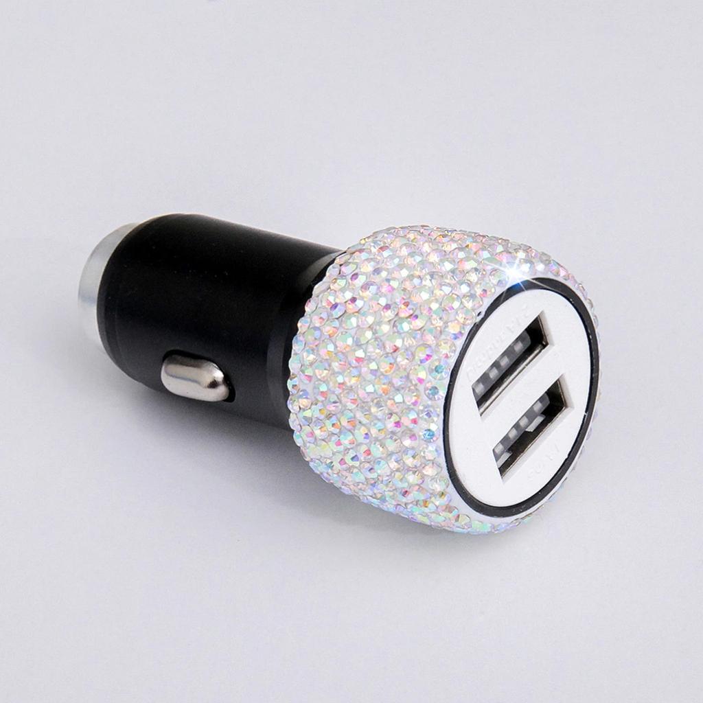 Красивое автомобильное зарядное устройство с двойным USB портом