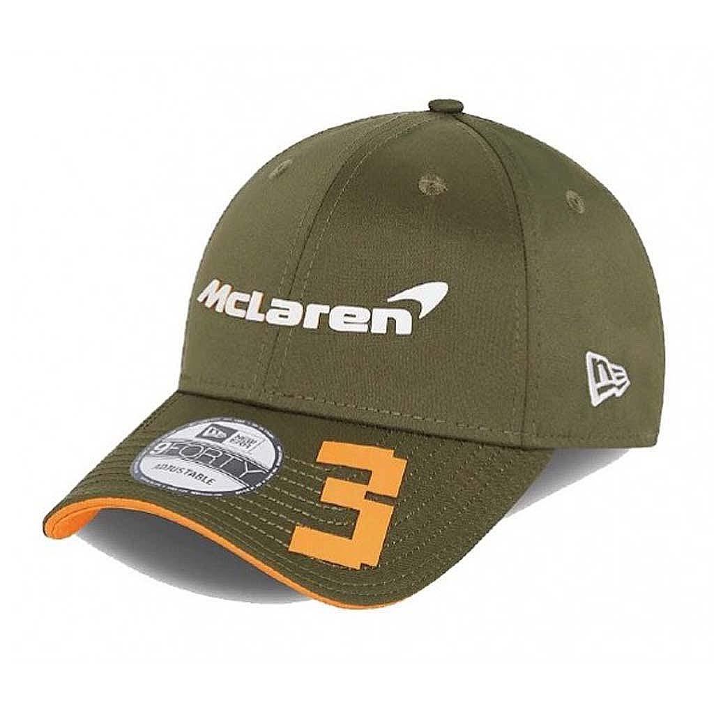"Кепка McLaren F1 Team Daniel Ricciardo - атрибутика ""Формулы 1"""