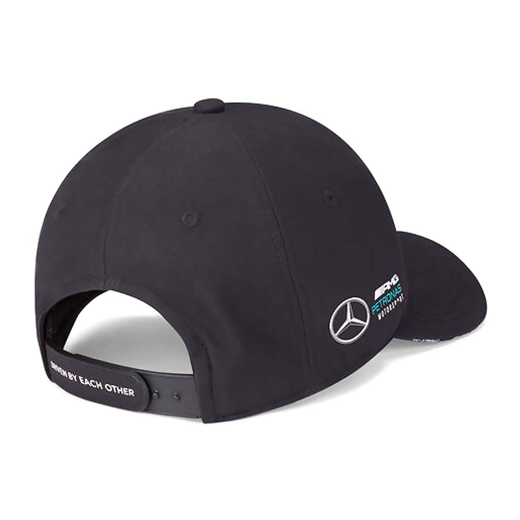"Кепка Mercedes-AMG Petronas 2021 Black - атрибутика ""Формулы 1"""