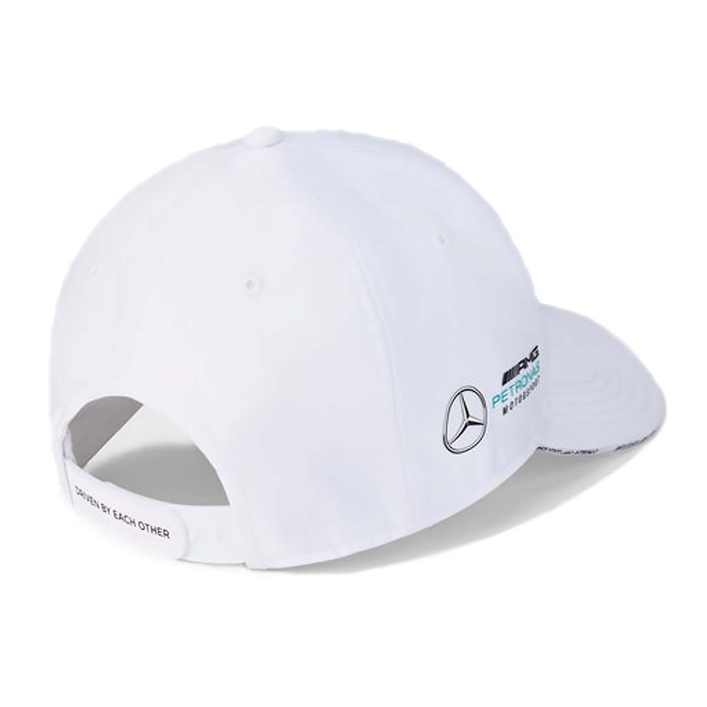 "Кепка Mercedes-AMG Petronas 2021 White - атрибутика ""Формулы 1"""