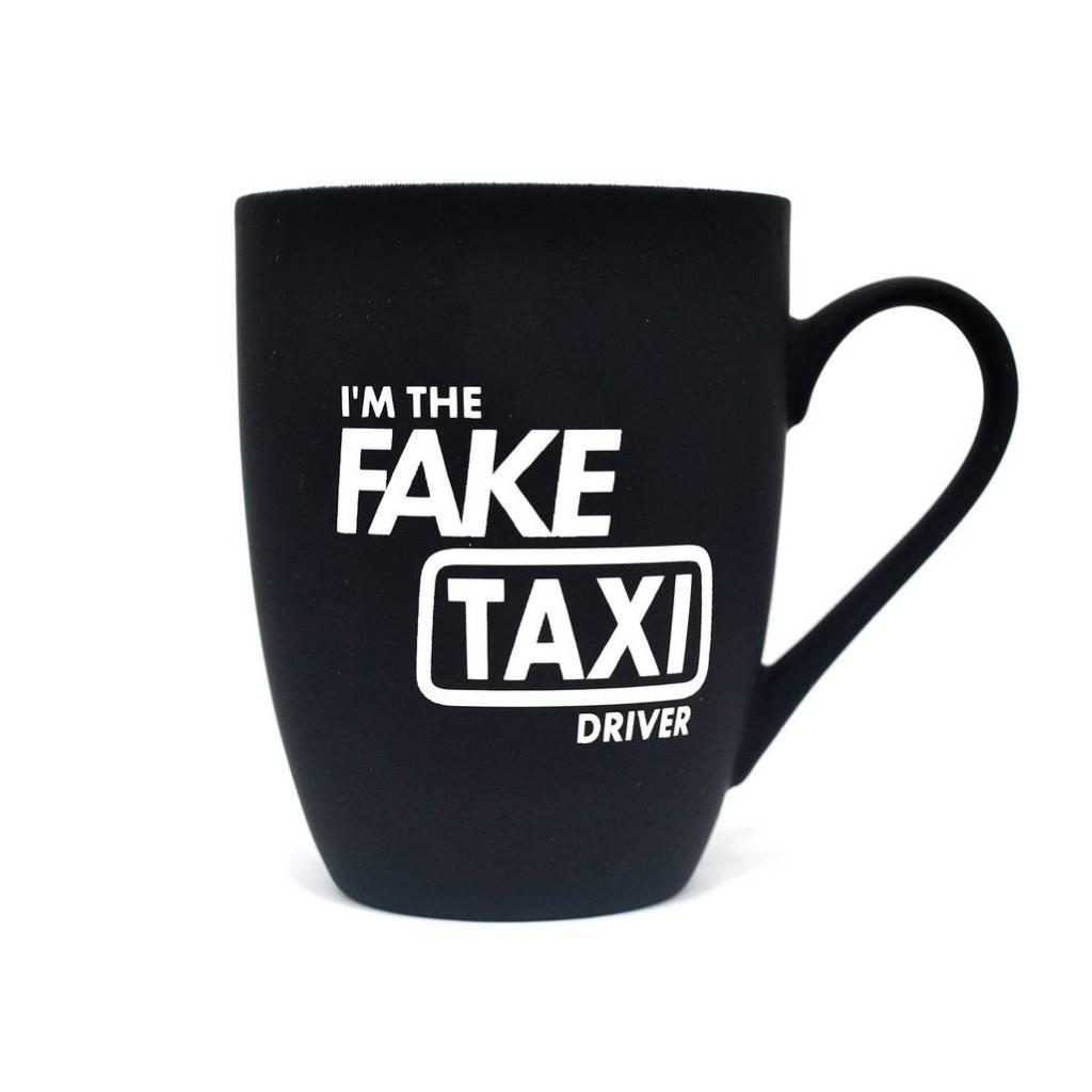 """Кружка с принтом """"I'm the FAKE TAXI Driver"""" - Отличный подарок фану порно"""