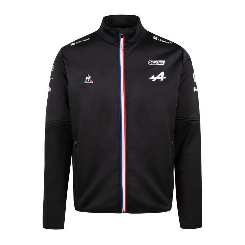 Куртка Softshell ALPINE F1 Team 2021 Black - атрибутика Формулы 1