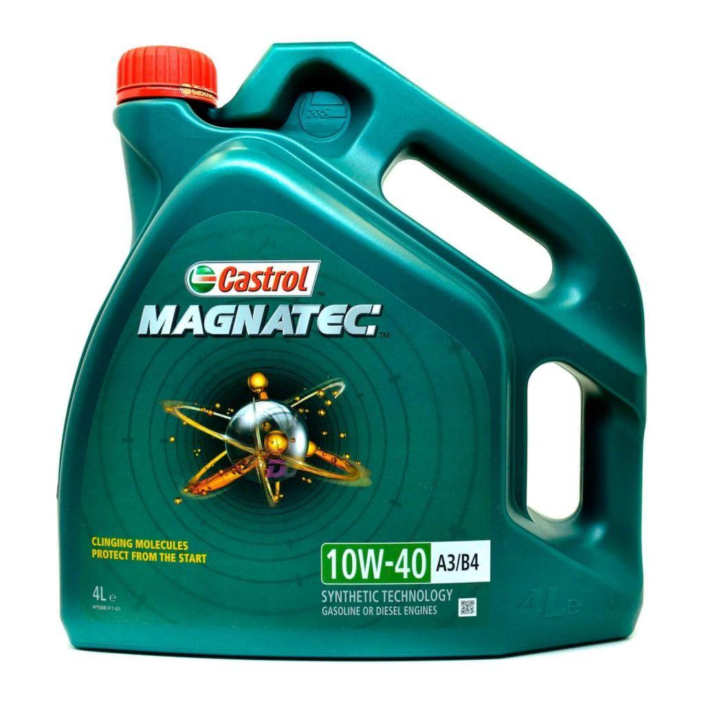 Моторное масло - Castrol MAGNATEC 10W-40 A3/B4 GASOLINE or DIESEL 4L