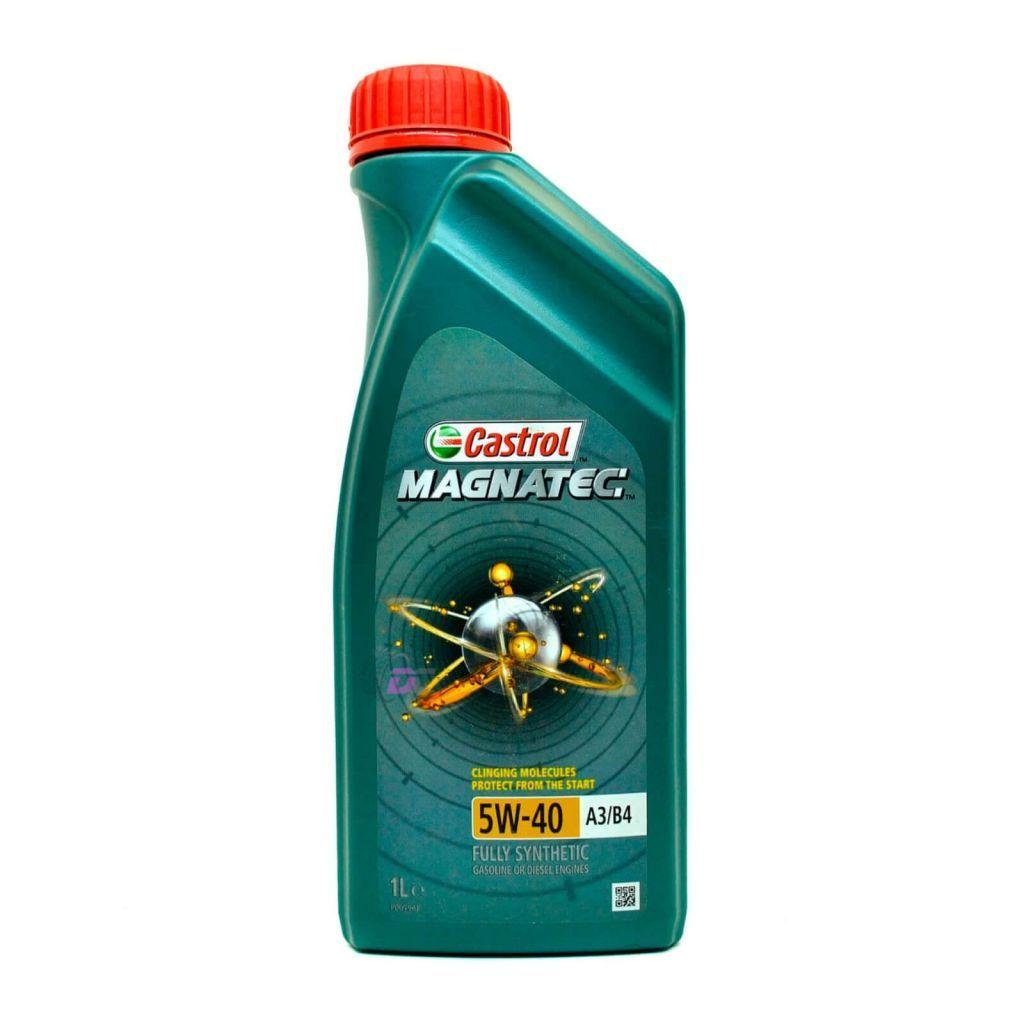 Моторное масло - Castrol MAGNATEC 5W-40 A3/B4 GASOLINE or DIESEL 1L