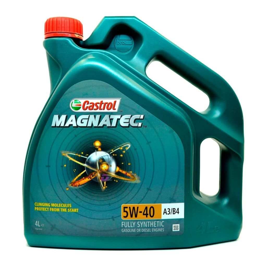 Моторное масло - Castrol MAGNATEC 5W-40 A3/B4 GASOLINE or DIESEL 4L