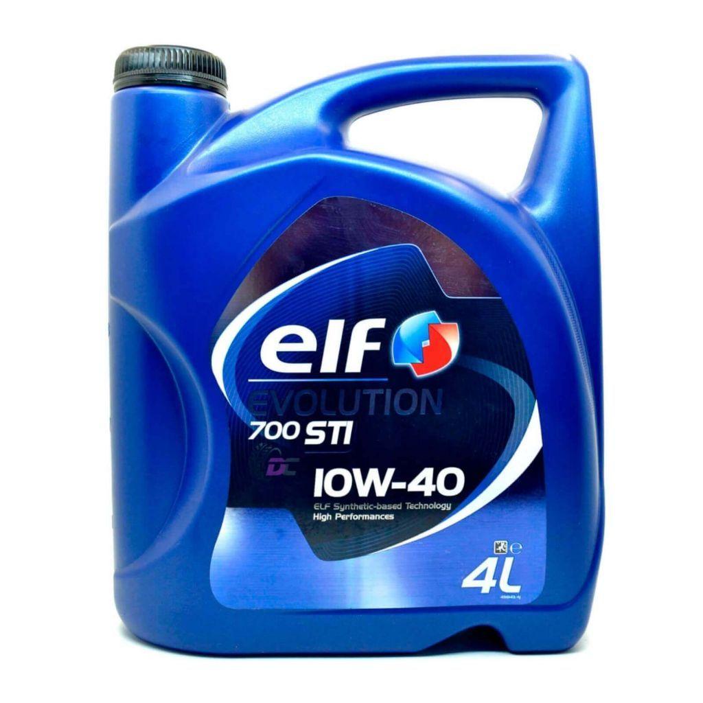 Моторное масло - Elf EEVOLUTION 700 STI 10W-40 4L