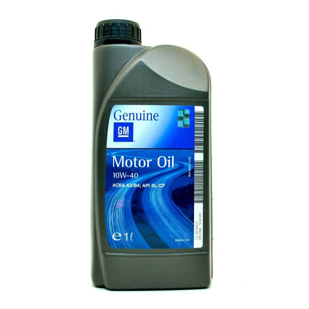 Моторное масло - GM Genuine 10W-40 1L