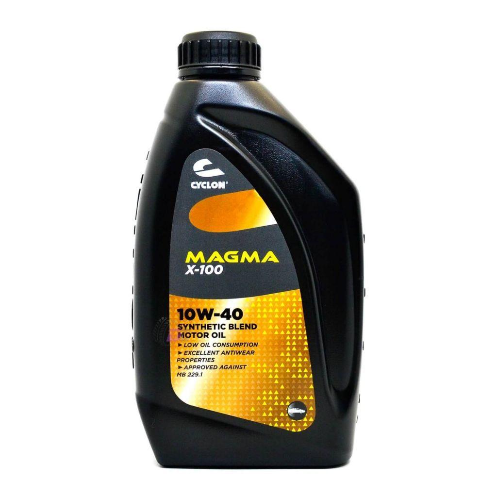 Моторное масло - CYCLON MAGMA X-100 10W-40 1L