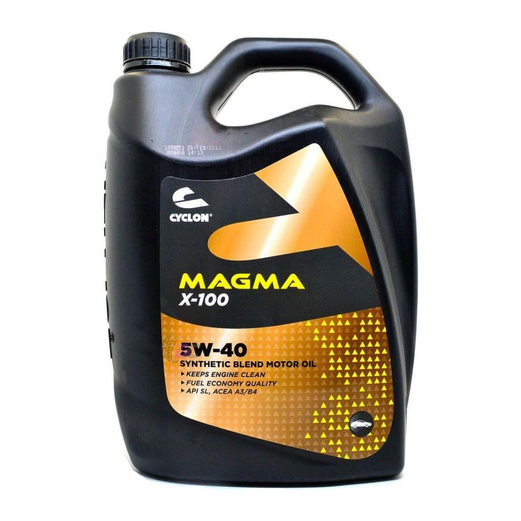 Моторное масло - CYCLON MAGMA X-100 5W-40 4L
