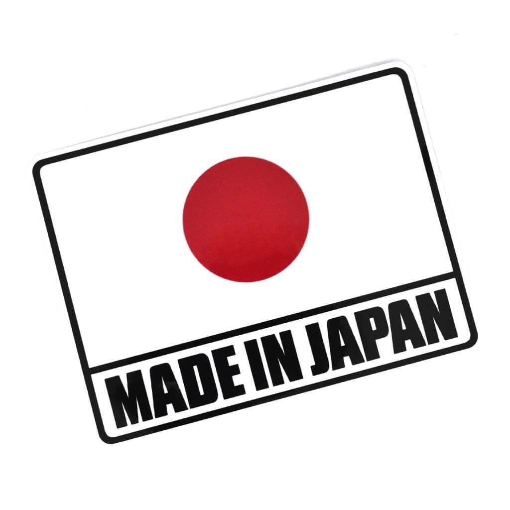 """Качественные наклейки на авто c надписью """"Made in Japan"""""""