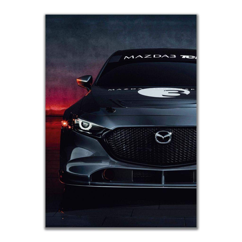 Постер на стену - Mazda 3 BM
