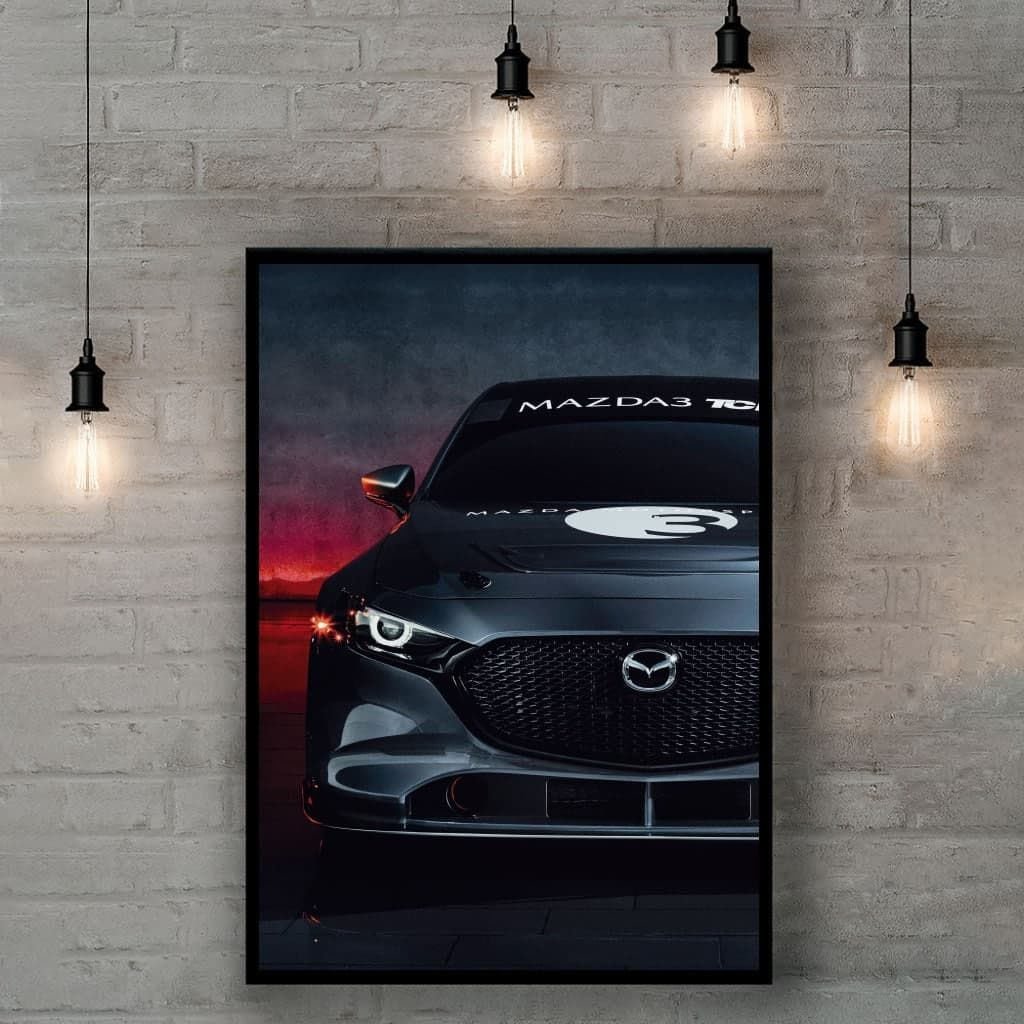 Плакат на стену - Mazda 3 BM