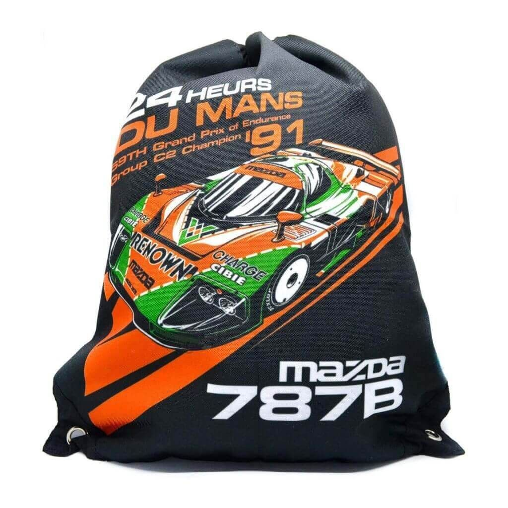 Мужская сумка-мешок - Mazda 787B 1991