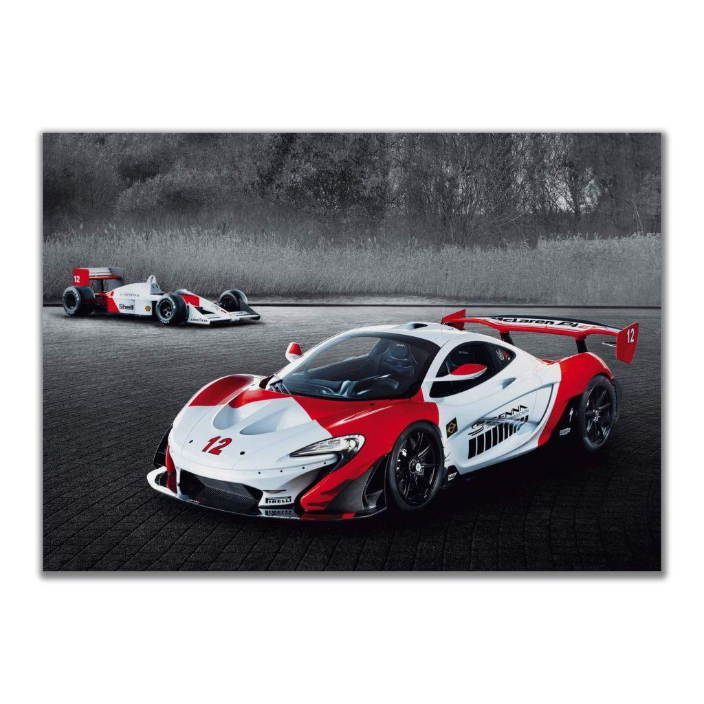 """Постеры и плакаты на стену с """"McLaren P1 GTR Senna"""", для интерьера"""