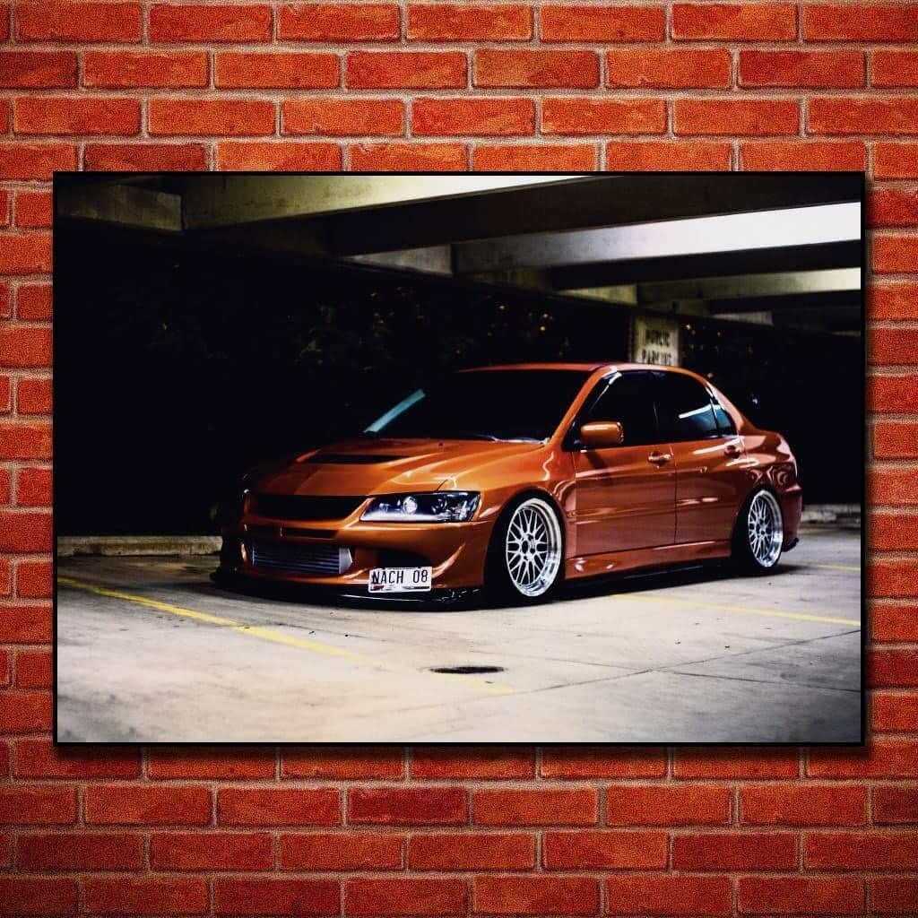 """Постеры и плакаты на стену с """"Mitsubishi Lancer Evolution IX"""", для интерьера"""