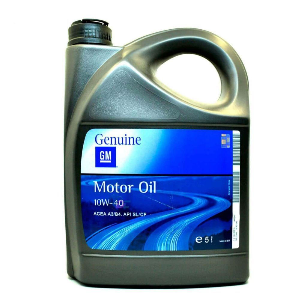 Моторное масло - GM Genuine 10W-40 5L