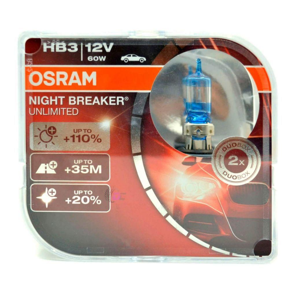 Галогенные лампы для машины - OSRAM NIGHT BREAKER UNLIMITED HB3 60W 12V