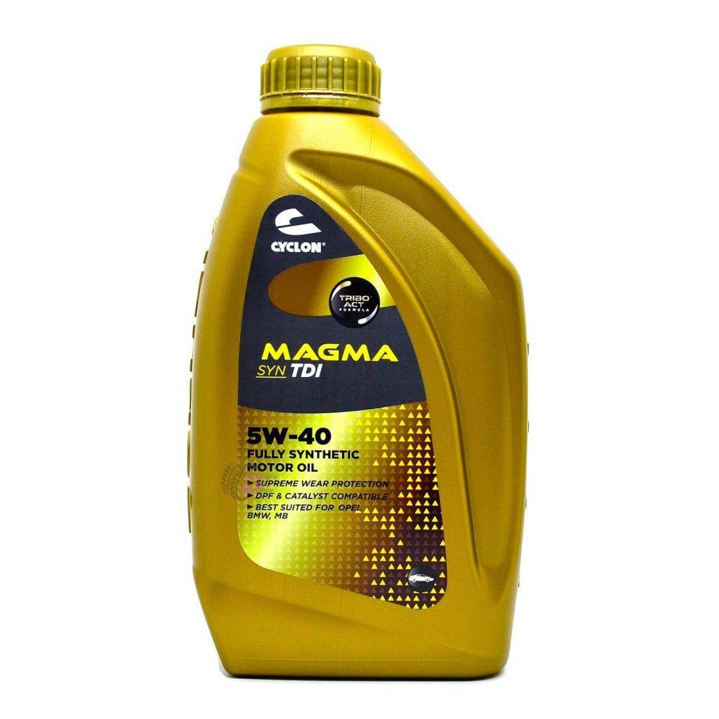 Моторное масло - CYCLON MAGMA SYN TDI 5W-40 1L