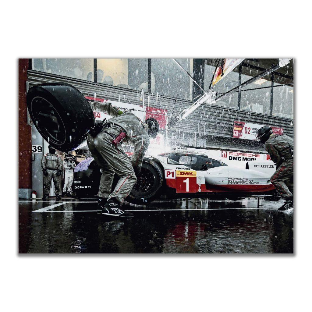 Постер с автомобилем Porsche 919 Hybrid