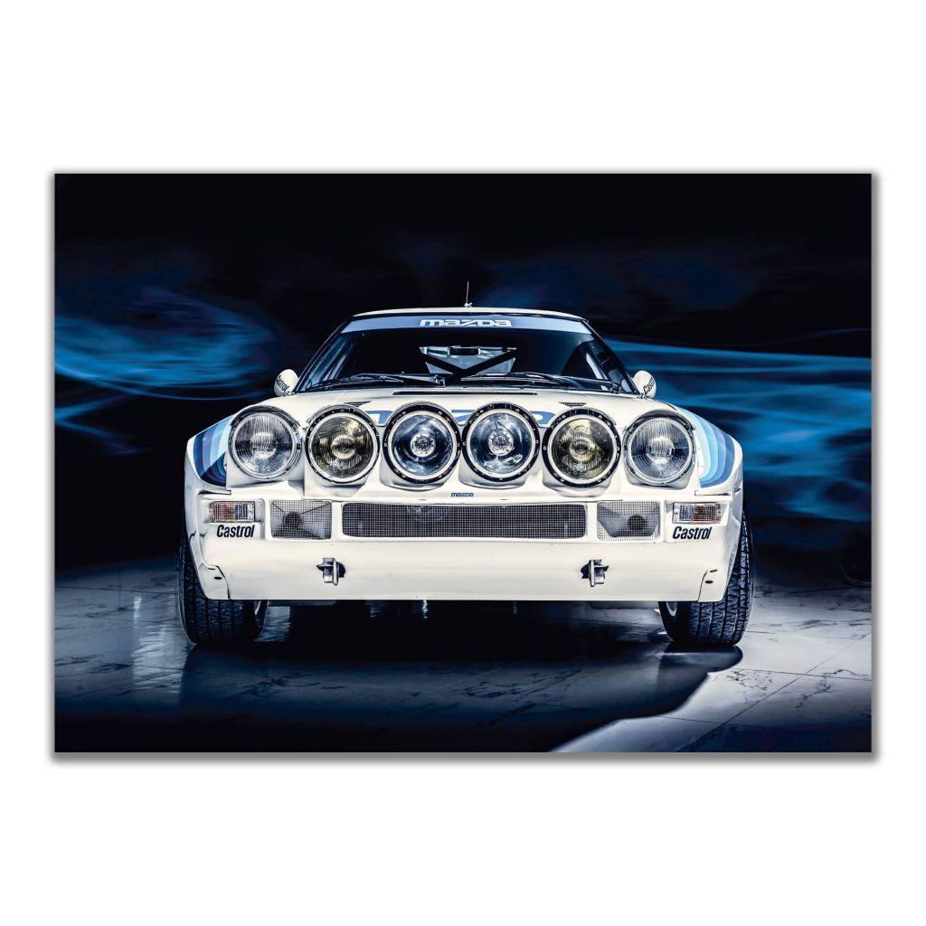 "Постер на стену ""Mazda RX7 Group B"""