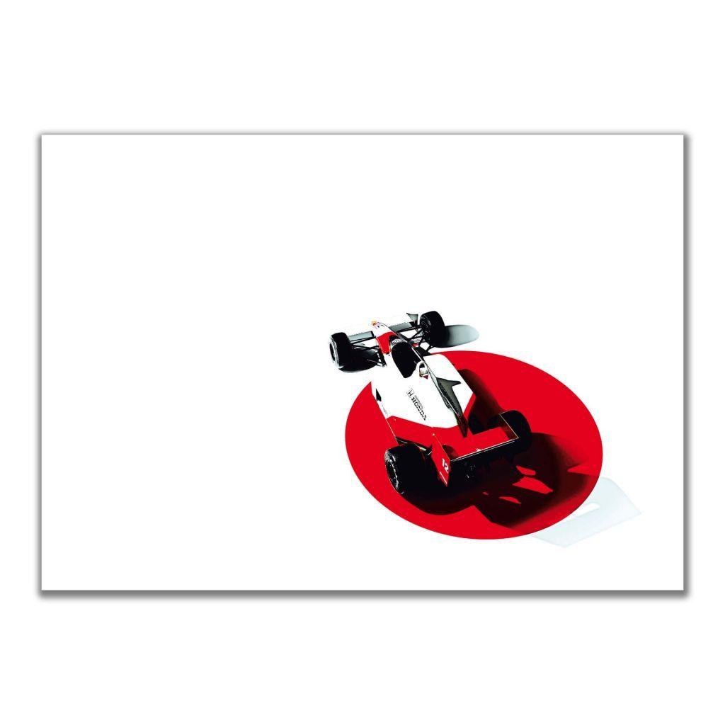 """""""McLaren-Honda.h MP4/4"""" - Горизонтальные постеры с автомобилями Formula 1"""