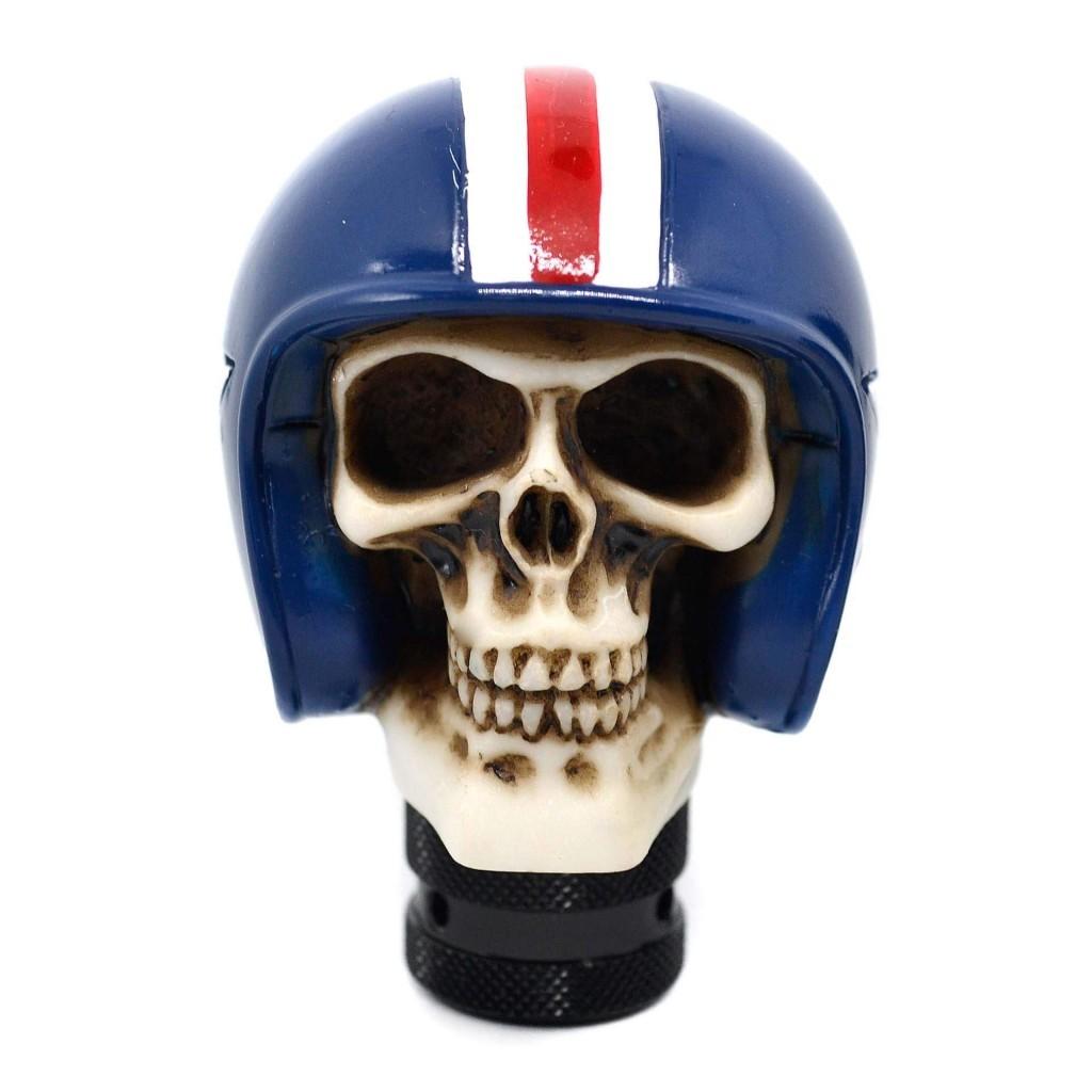 Купить череп на ручку КПП - аксессуар настоящего гонщика из ада