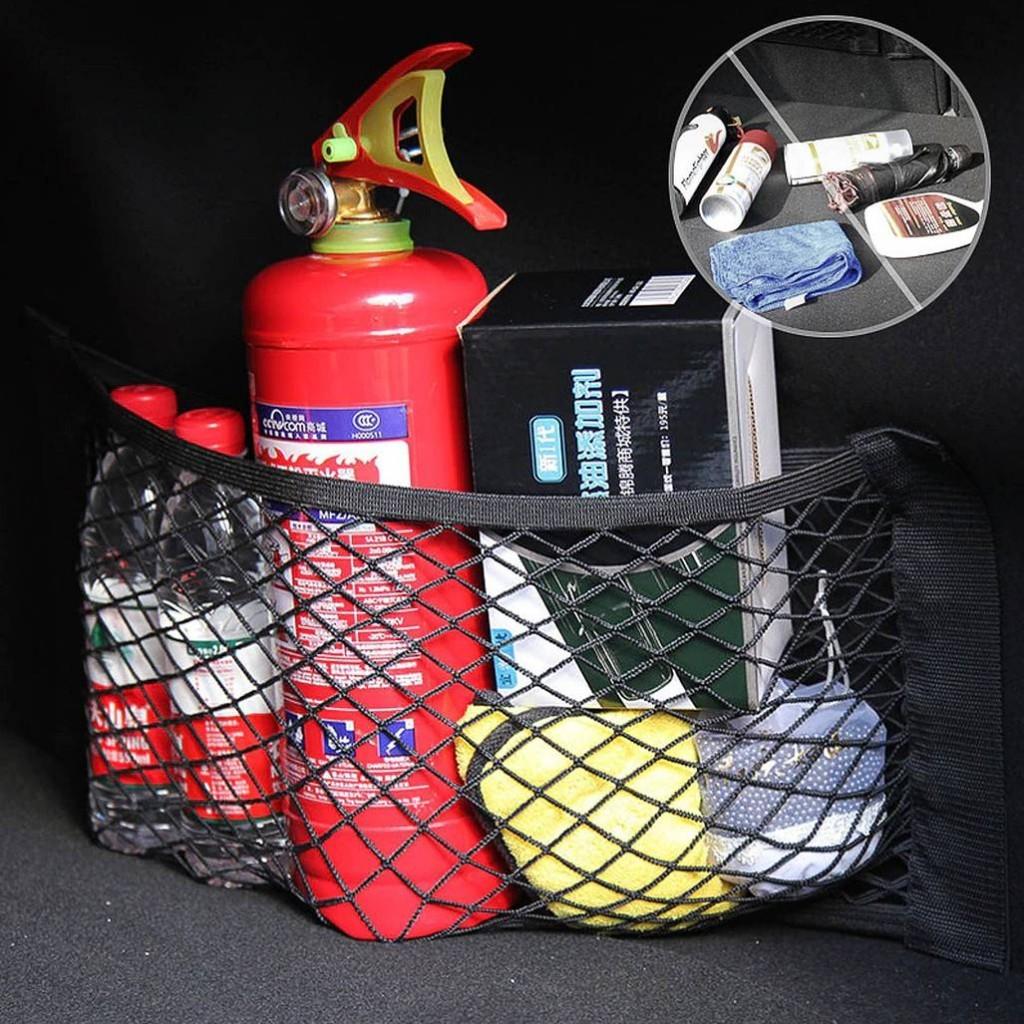 Сетка на липучке в багажник - купить дополнительный карман в авто