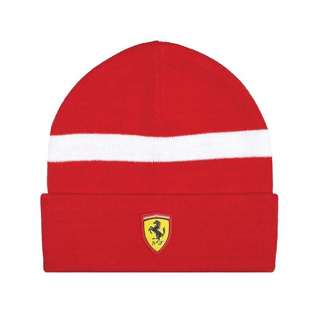 Шапка Scuderia Ferrari Red - атрибутика Формулы 1