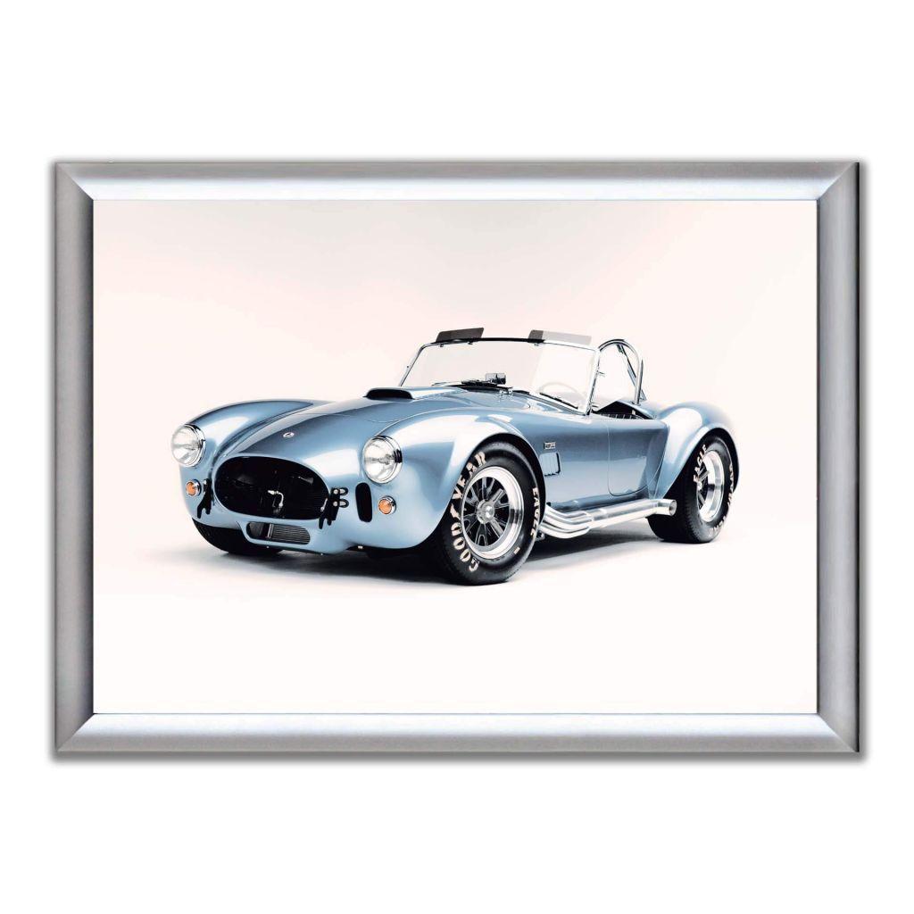 А2 Постер в алюминиевой рамке - Shelby Cobra 427