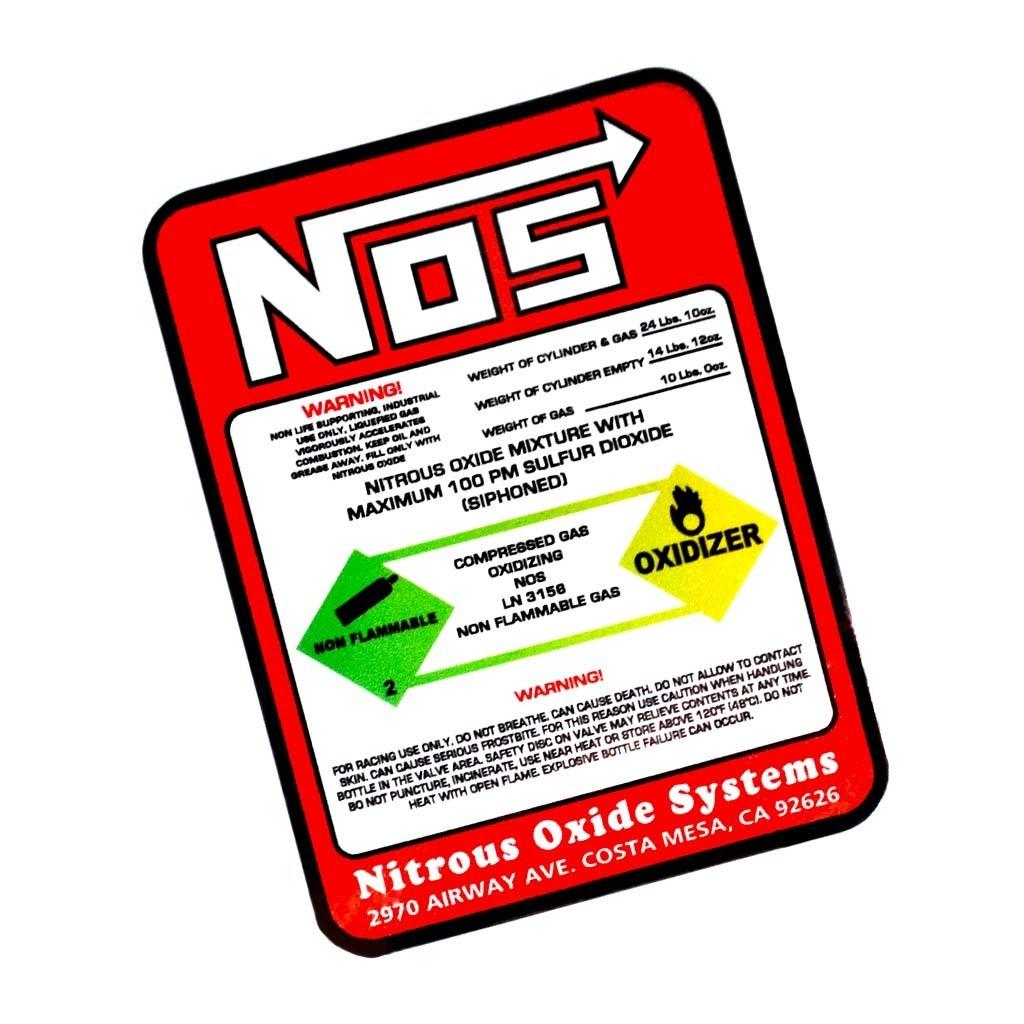 """Качественные наклейки на авто c надписью """"Nitrous Oxide Systems"""""""