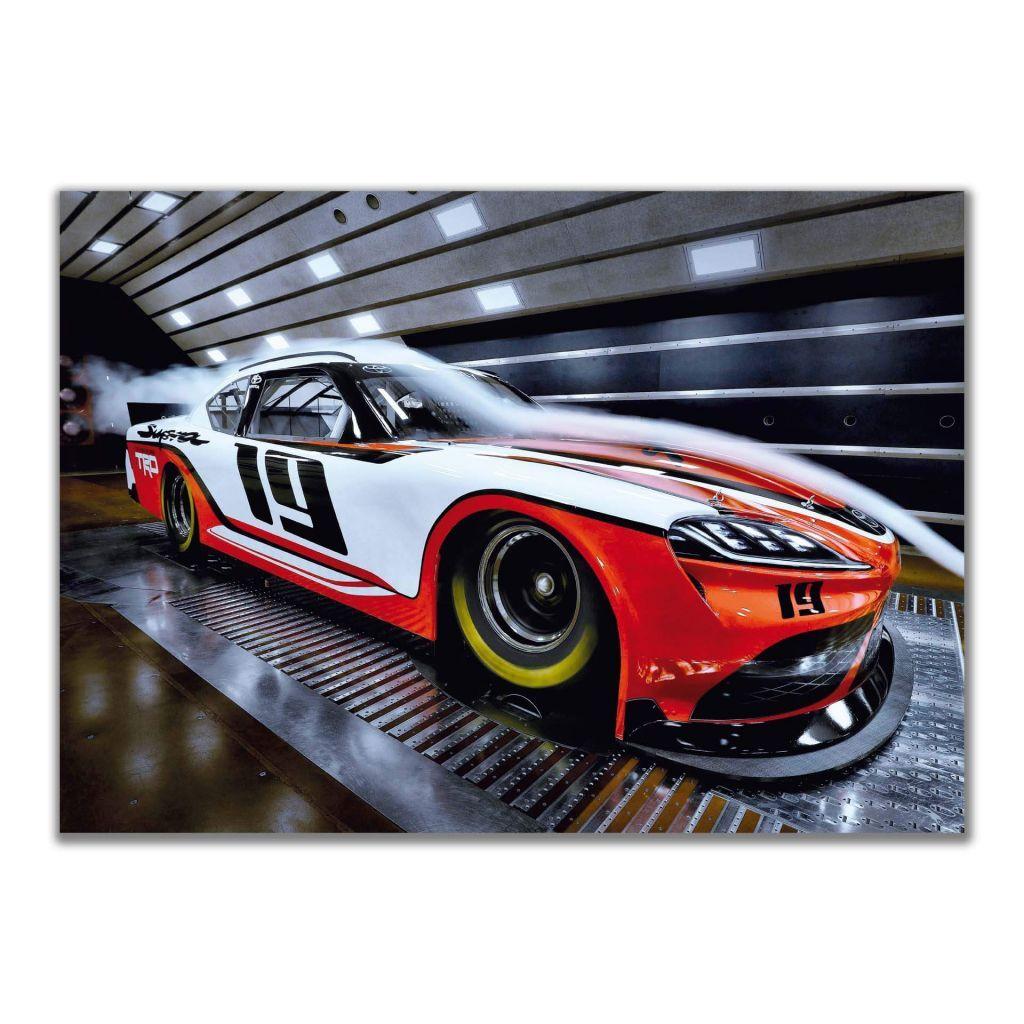 Toyota Supra NASCAR Xfinity series (2019) - Постеры с автомобилями