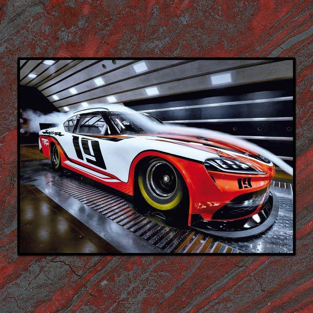 Toyota Supra NASCAR Xfinity series 2019 - В РАМКЕ