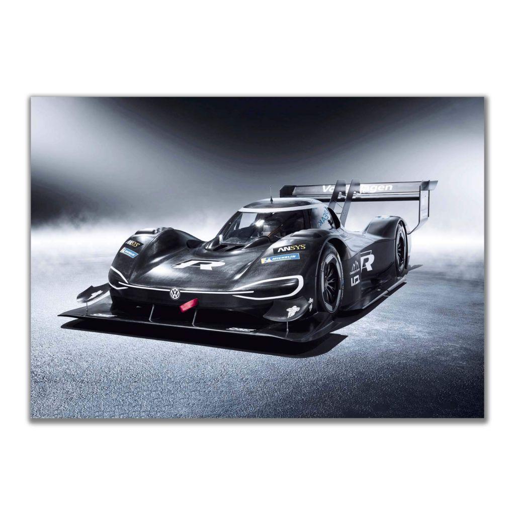 Постеры с гоночными машинами из Германии -  Volkswagen I.D. R