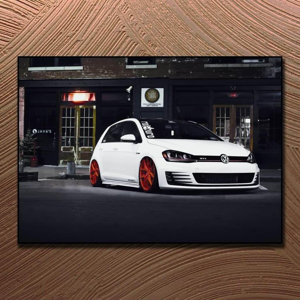 """Постеры и плакаты на стену с """"VW Golf GTi TCR"""", для интерьера"""