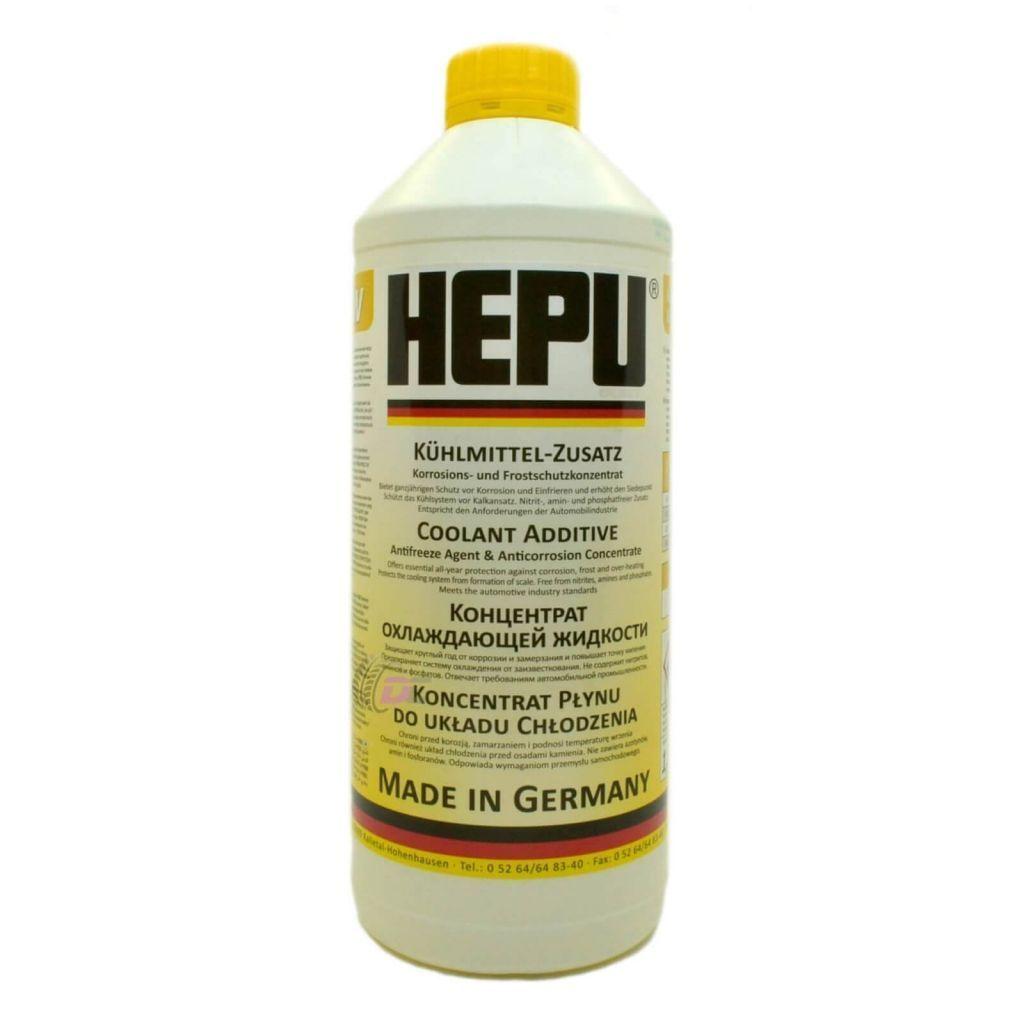 Антифриз - HEPU G12 ЖЕЛТЫЙ