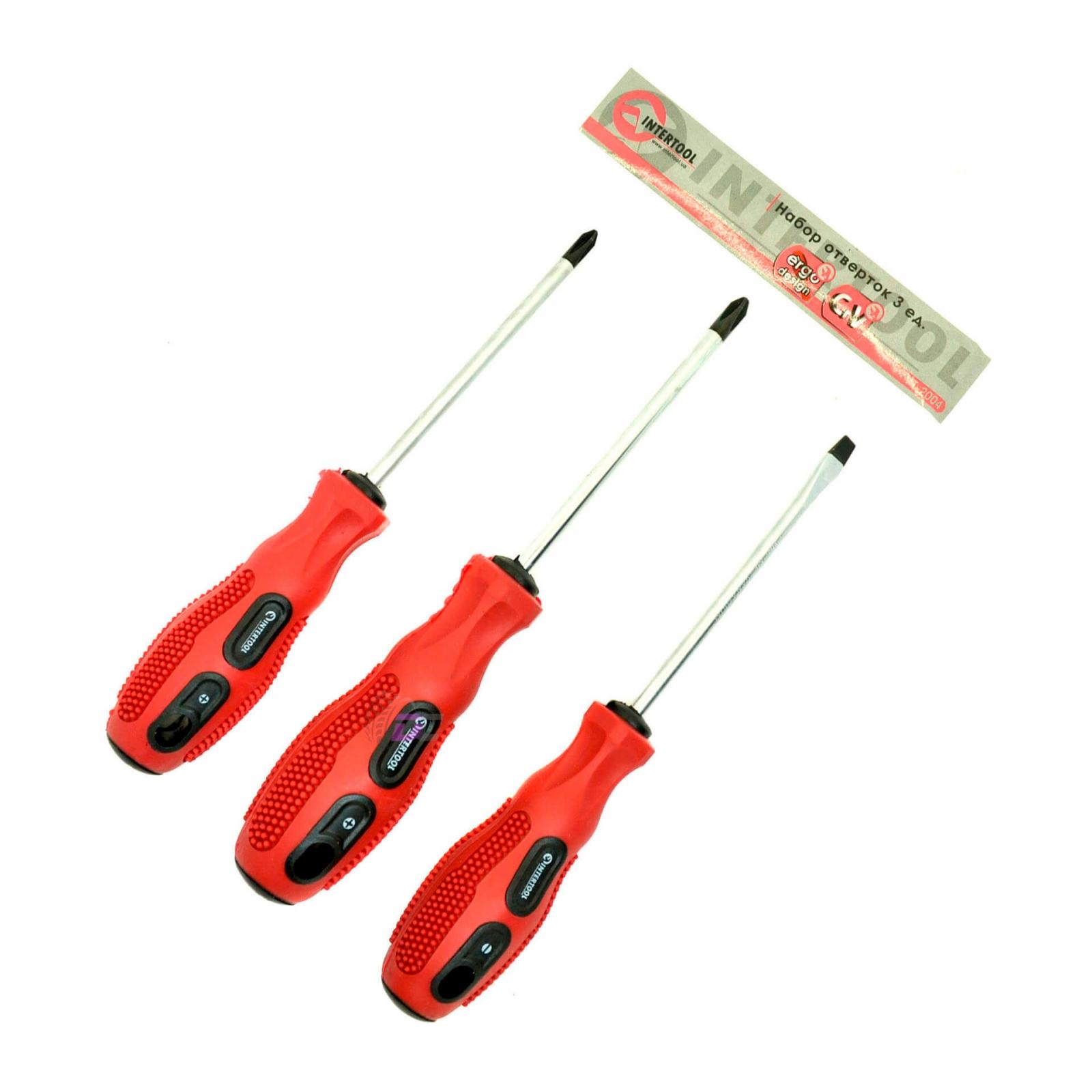 Set of screwdrivers - INTERTOOL VT-2004