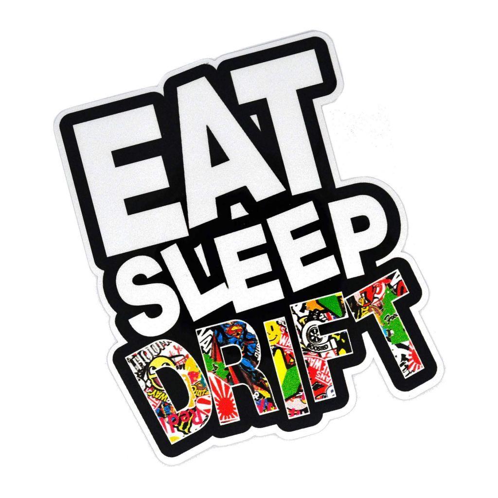 JDM Наклейки на авто - Eat Sleep DRIFT