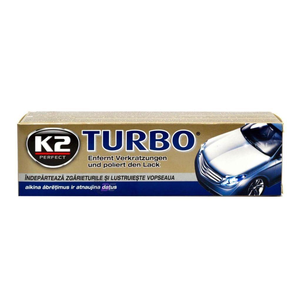 Полировочная паста в коробке - K2 TURBO 120 G