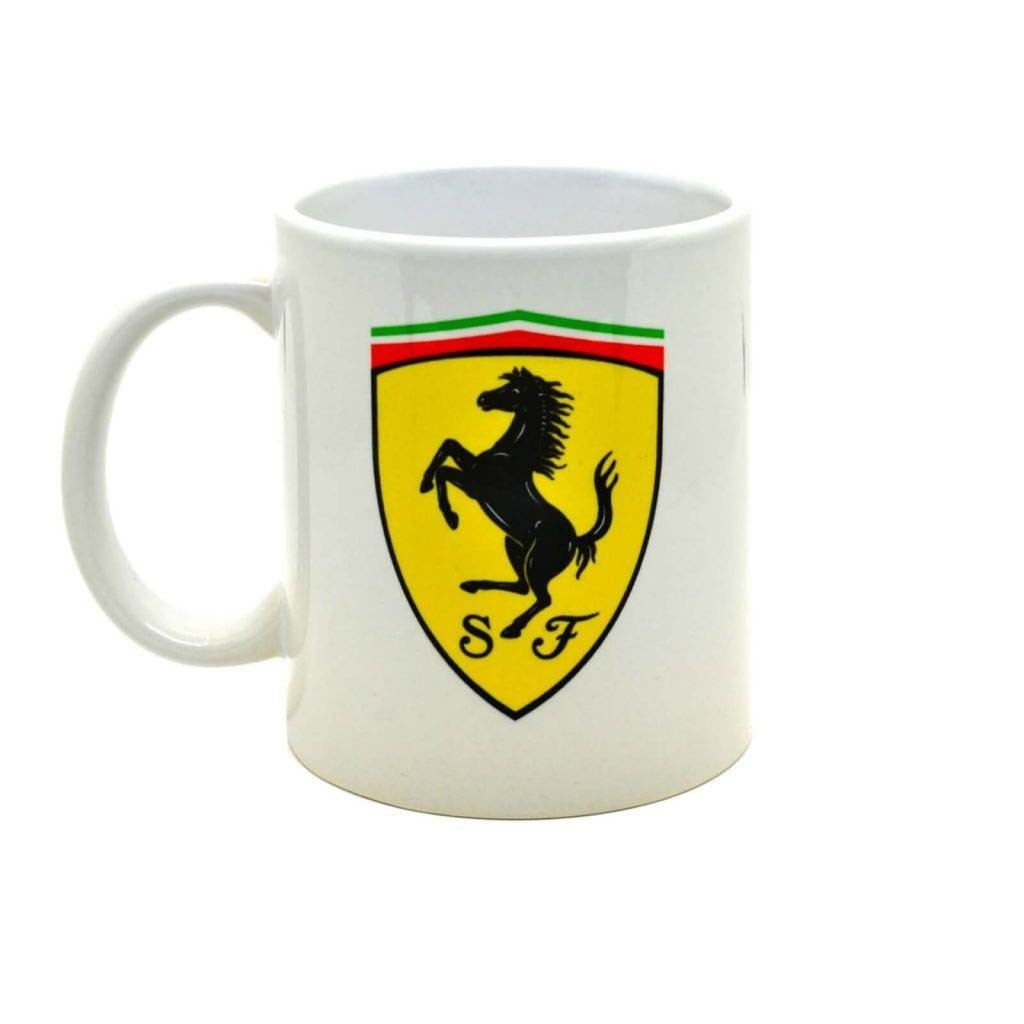 """Чашка с рисунком логотипа """"Ferrari"""""""